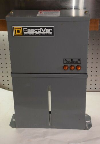 Square D ReactiVar PFCD4025F 25 KVAR POWER FACTOR CORRECTION CAPACITOR