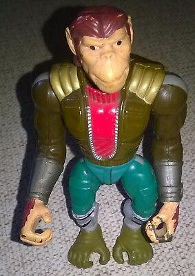 Captain Simian & The Space Monkeys Action Figure Mattel TManta Force BKN 1996