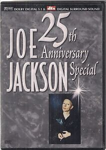 DVD JOE JACKSON - 25th Anniversary Special - <span itemprop='availableAtOrFrom'>Olsztyn, Polska</span> - DVD JOE JACKSON - 25th Anniversary Special - Olsztyn, Polska