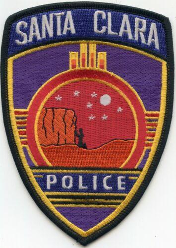 SANTA CLARA NEW MEXICO NM colorful POLICE PATCH