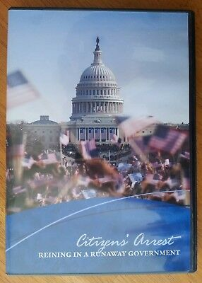 Citizens' Arrest - Reining In A Runaway Government DVD, Very Good, Coral Ridge, used for sale  Wauconda