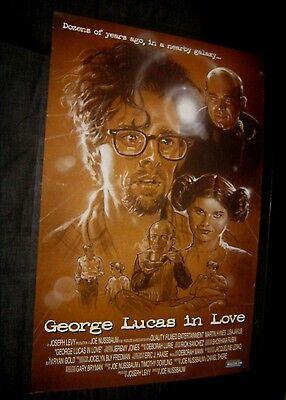Original George Lucas In Love 1 Sheet Award Winning Short Film Make Offer