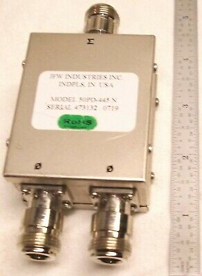 Jfw Industries 50pd-445 N Power Divider Type N Used Rf 3 Ghz