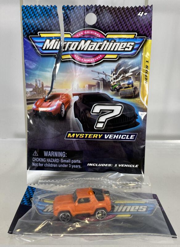 Micro Machines Blind Bag Series 1 Hognose Orange Off-Road Truck Mystery Vehicle