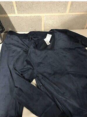 Ladies Jezebel Velour Lounge Suit. New
