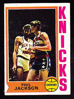 1974 75 Topps  132 Phil Jackson Knicks