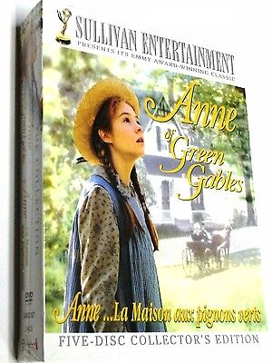 Anne Of Green Gables The Trilogy Collection  Dvd  2008  5 Disc Collectors Set