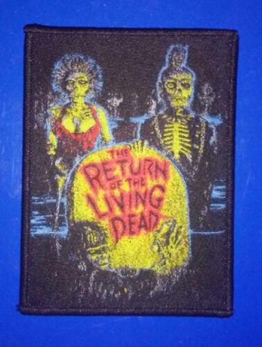 Return of the Living Dead WOVEN PATCH - HORROR movie - zombies, tarman, 80s punk