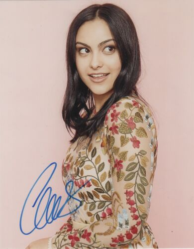 Camila Mendes Sexy Riverdale Autographed Signed 8x10 Photo COA MR432