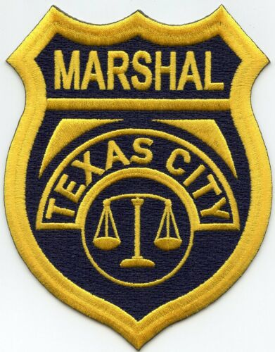 TEXAS CITY TEXAS TX MARSHAL police PATCH