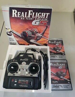 Realflight RC Flight Simulator Remote Control Airplane Interlink Elite By Futaba
