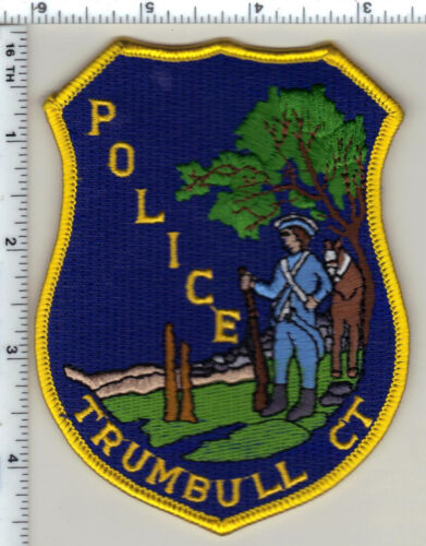 Trumbull Police (Connecticut) Shoulder Patch - new from 1992