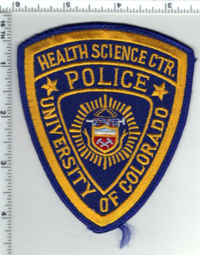 University of Colorado Police Health Science Center Shoulder Patch