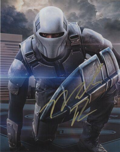 Mechad Brooks Supergirl Autographed Signed 8x10 Photo COA D9AB