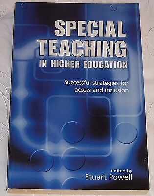 Special Teaching in Higher Education - Edited by Stuart Powell, used for sale  Shipping to Nigeria