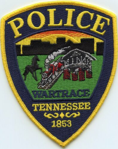 WARTRACE TENNESSEE TN colorful POLICE PATCH