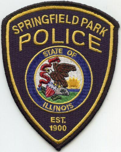 SPRINGFIELD ILLINOIS IL PARK POLICE PATCH