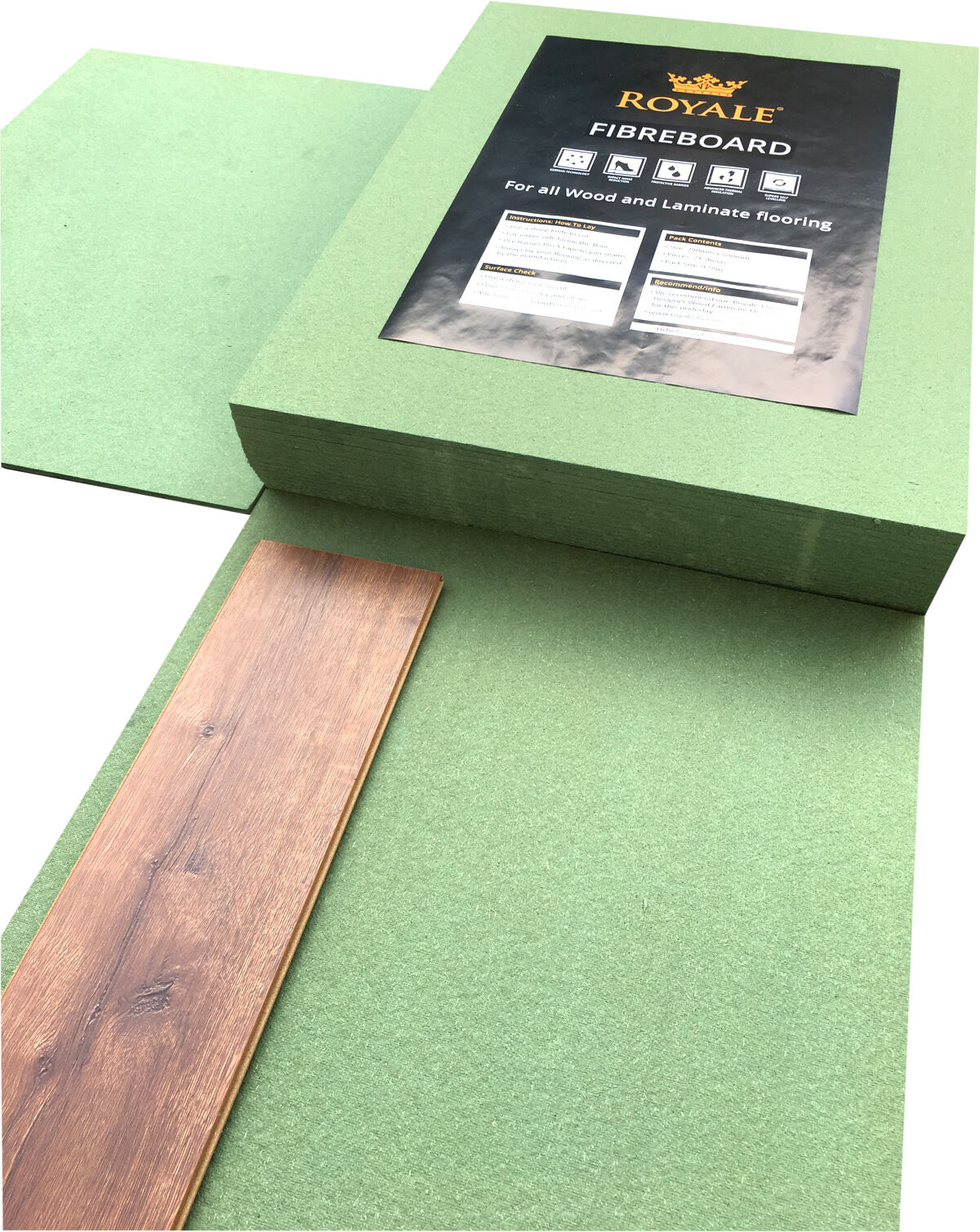 7mm Fibreboard Underlay Laminate Or Wood Flooring 7mm
