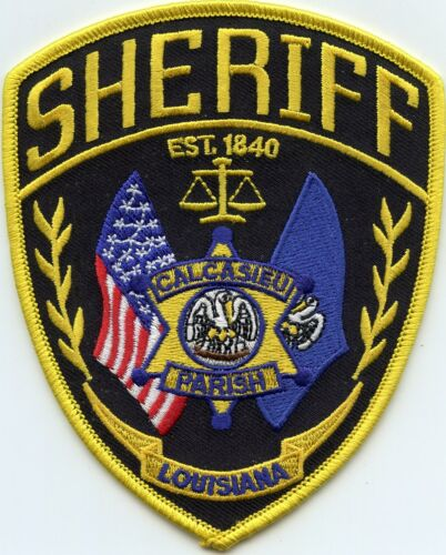 CALCASIEU PARISH LOUISIANA SHERIFF POLICE PATCH