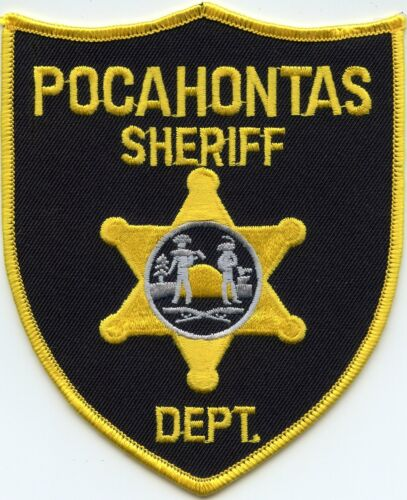POCAHONTAS COUNTY WEST VIRGINIA WV SHERIFF POLICE PATCH