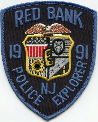 RED BANK NEW JERSEY NJ EXPLORER POLICE PATCH