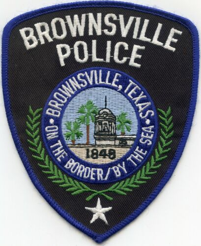 BROWNSVILLE TEXAS TX On The Border - By The Sea POLICE PATCH