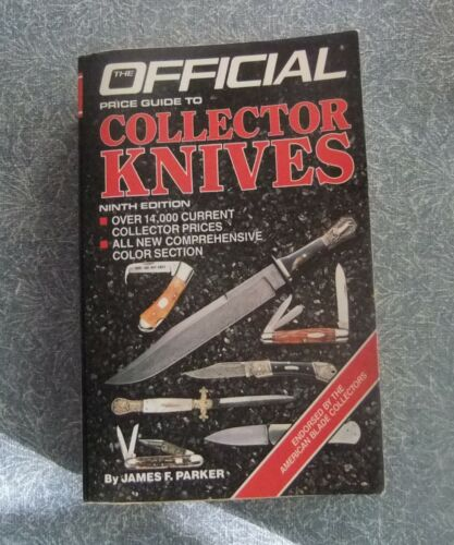 Official Price Guide to Collector Knives Book  Pocket Knives Sheath Knives 1987