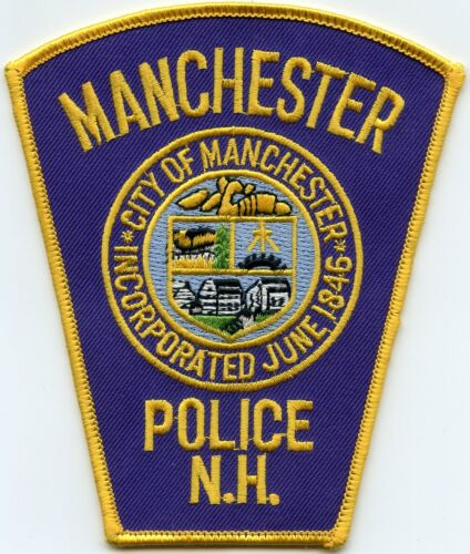 MANCHESTER NEW HAMPSHIRE NH POLICE PATCH