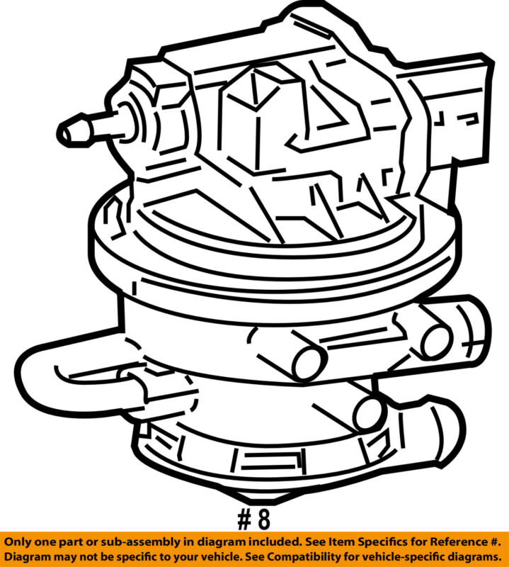 Jeep Chrysler Oem 02 04 Grand Cherokee 4 0l Emission Leak Detect