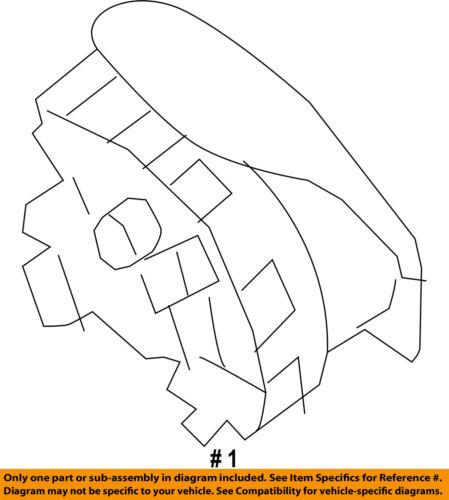 Airbag Air Bag-Driver Steering Wheel Inflator