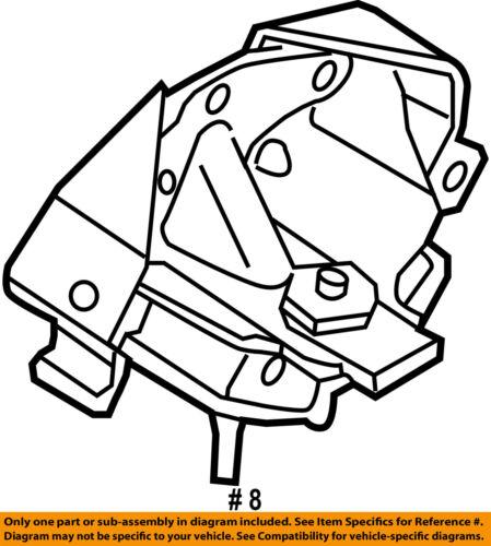 Ford Oem 11 14 F 150 Transmission Trans Mount Bl3z6068f