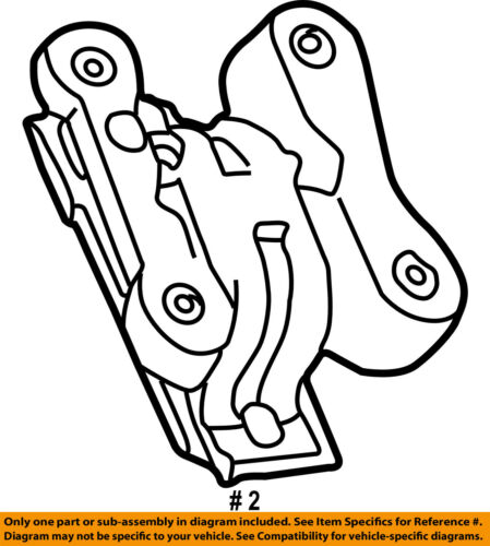 Ford Oem 05 07 F 250 Super Duty Engine Motor Mount Torque Strut