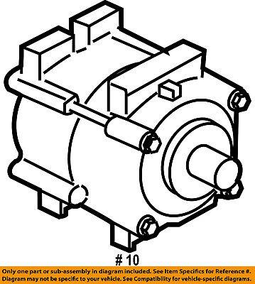 FORD OEM 04-08 Ranger-A/C AC Compressor 4L5Z19V703CD