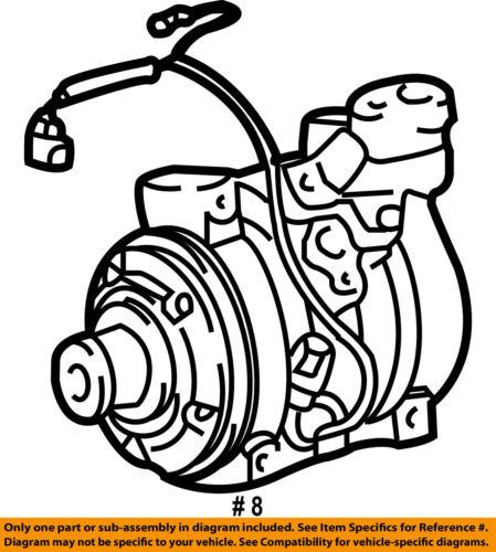 C Ac Air Conditioning Compressor