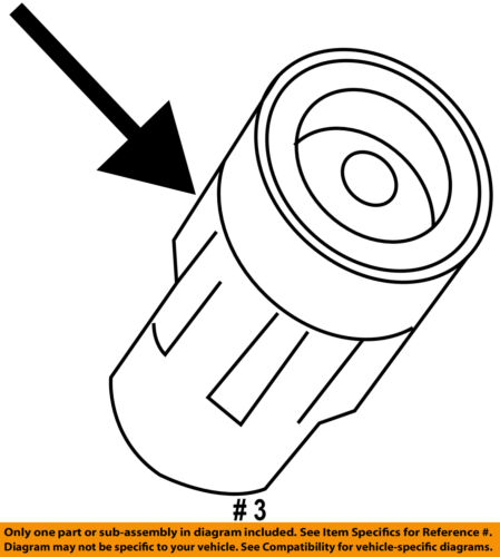 Ford Motorcraft Wr6135 Oem Ignition Spark Plug Boot Bl3z 12a402 A