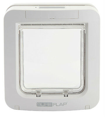 Sureflap Microchip Pet Door White/brown - Use Microchip O...