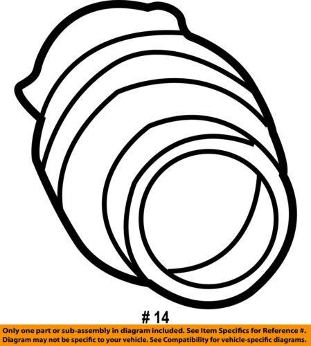 Toyota Oem Air Cleaner Intake Hose Tube Duct 17882aa020