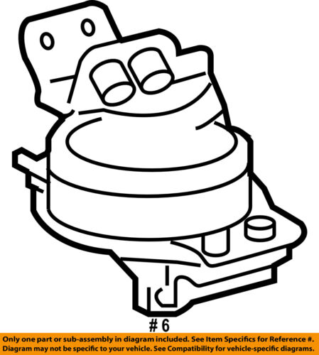 Toyota Oem 10 15 Tundra Engine Motor Mount Torque Strut 123710s030