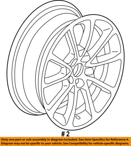 Acura HONDA OEM 2018 TLX-Wheel-Alloy Aluminum 42700TZ3A71