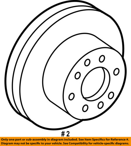 Toyota Oem Front Brake Rotor For Avaloncamrysiennasolara 43512