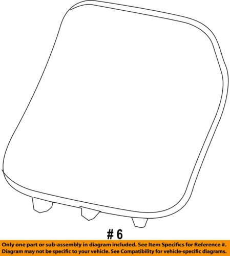 Jeep CHRYSLER OEM 14-16 Cherokee Liftgate Tailgate-Cover 5LS75DX9AA
