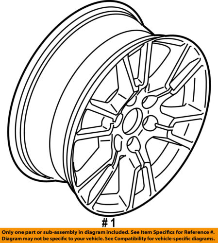Ford Oem 15 16 F 150 Wheel Alloy Aluminum Fl3z1007b
