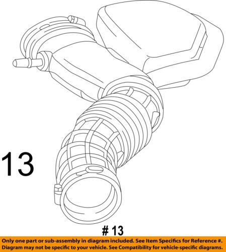 12-14 For FORD FOCUS S SE TITANIUM 2.0 2.0L DOHC 4-CYL AIR INTAKE w// HEAT SHIELD