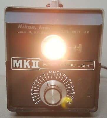 Nikon Mk2 Fiber Optic Light Illuminator. 21v150w Usa