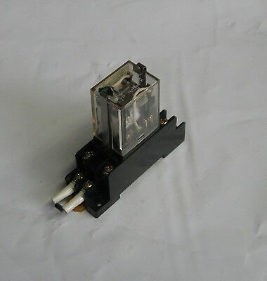 Omron Cube Relay, MY2N-MKK, Green LED, 24 VDC, w/ Base Unit,  Used, WARRANTY