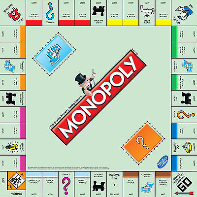 Classic Monopoly Board Game Complete New Sealed Family Edition Cardboard