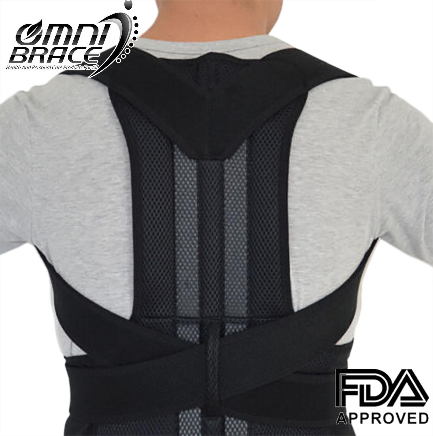 OMNIBRACE-Unisex Neoprene Deluxe Full Back Posture Corrector
