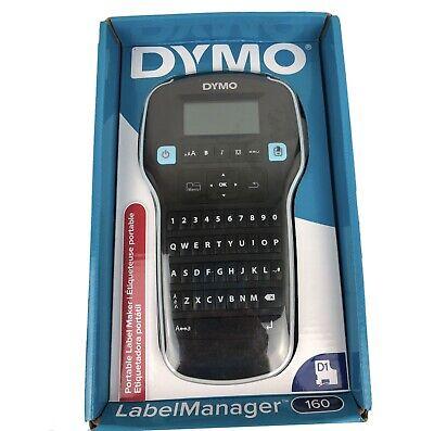 Dymo Labelmanager 160 Label Maker - Black. Open Box