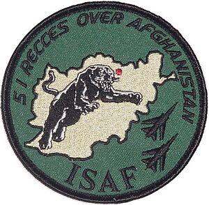Patch Aufnäher Luftwaffe ISAF AG 51 Recces over Afghanistan ..........A2389K