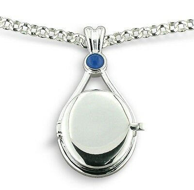 Official H2O Just Add Water Mermaid Locket Pendant Necklace in retail packaging
